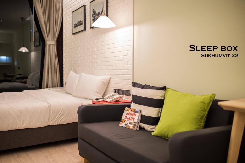 Take a rest with SLEEPBOX SUKHUMVIT 22